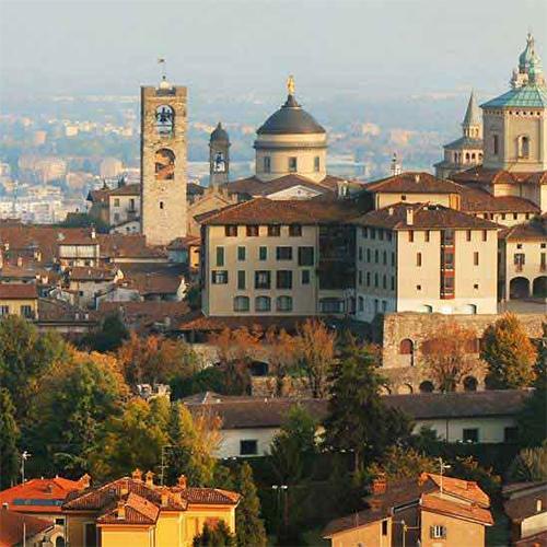 Bergamo Alta (Høje Bergamo - den gamle bydel)