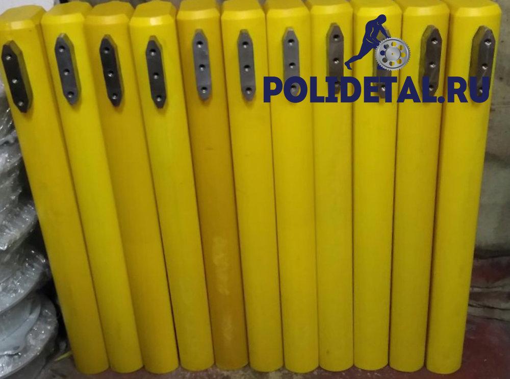 Комплект специализированных пуансонов из полиуретана для формования плит ПБ 220 /1500 для формующей машины Technospan