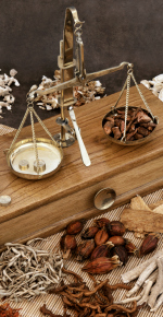 Chinese herbal medicine and scales