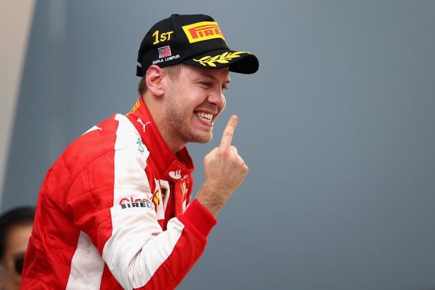 Philip Boeckman Sebastian Vettel Formula One F1