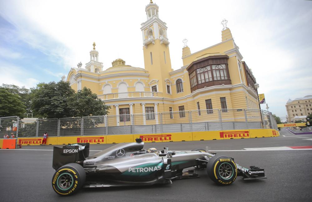 Philip Boeckman F1 Baku European Grand Prix