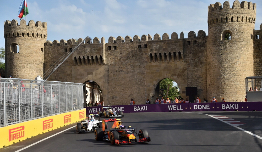 Philip Boeckman Formula One Red Bull Baku European Grand Prix