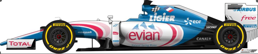Andrew Boeckman Formula One Ligier