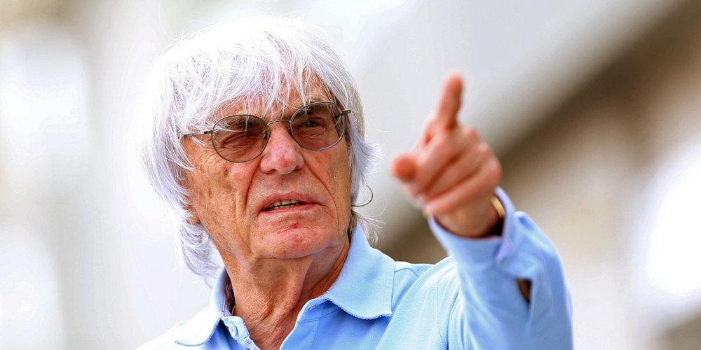 Formula One Philip Boeckman Bernie Ecclestone