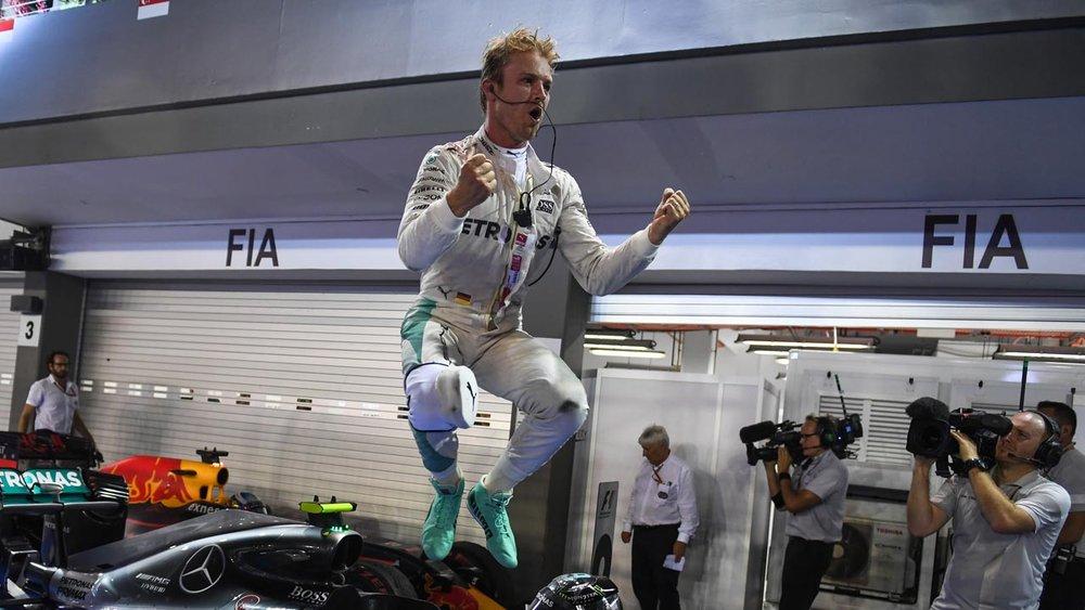 Philip Boeckman Nico Rosberg Formula One