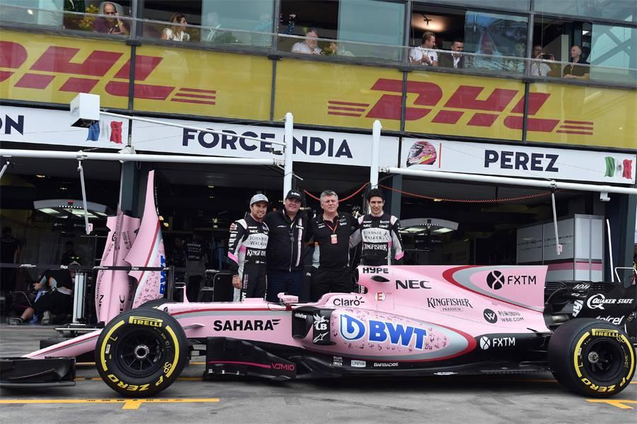 Philip Boeckman Formula one Force India
