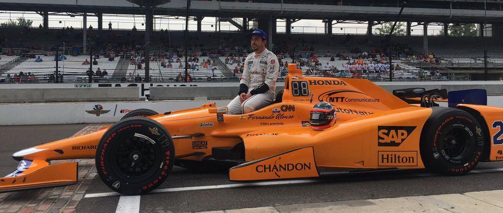 Fernando Alonso IndyCar Formula One Philip Boeckman
