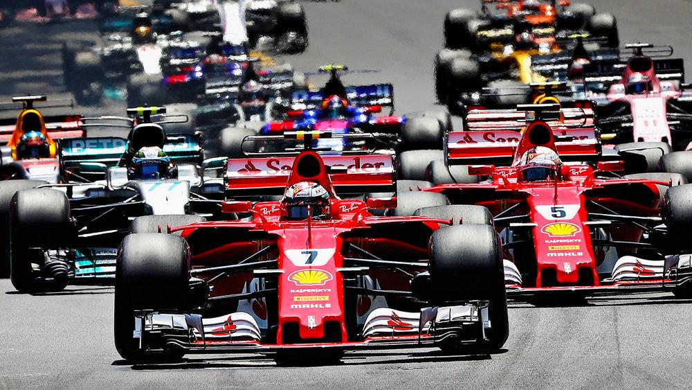 Philip Boeckman Formula One Sebastian Vettel Ferrari