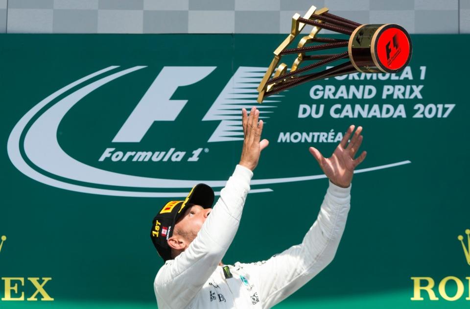 Philip Boeckman Formula One Lewis Hamilton Canadian GP