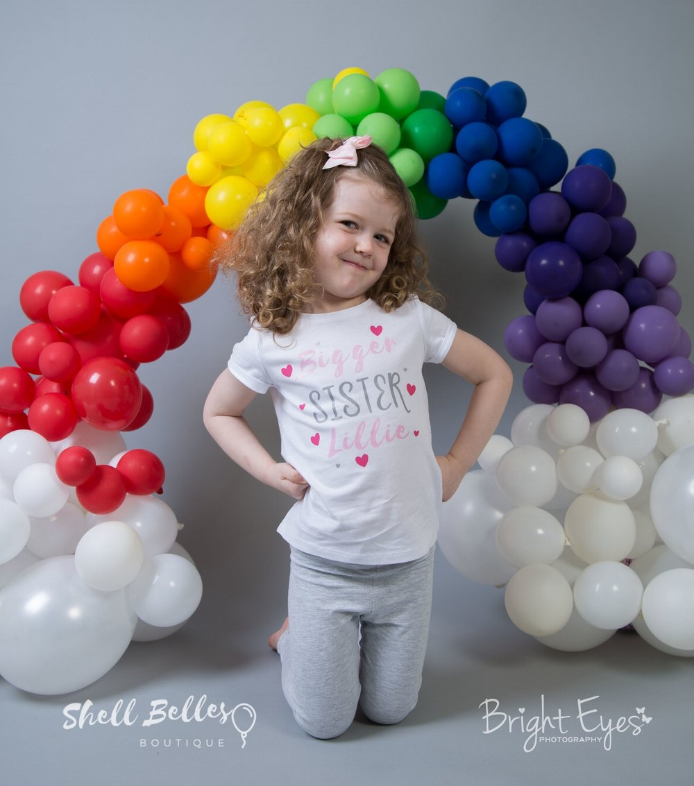 organic balloon arch welwyn