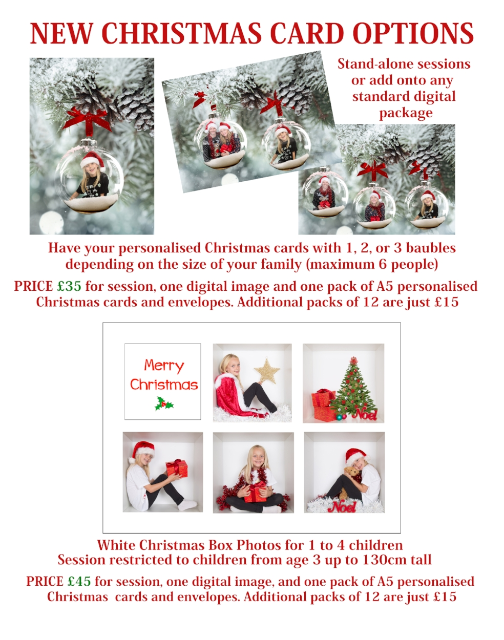 christmas mini session stevenage