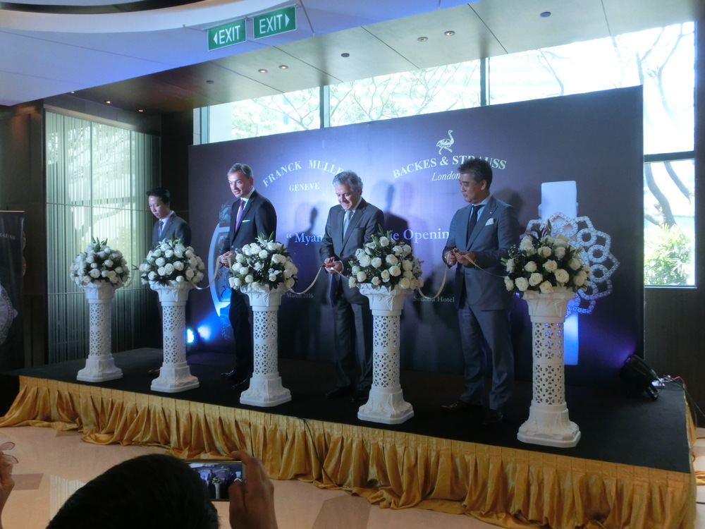 Franck Muller New Boutique Yangon Myanmar(6).JPG