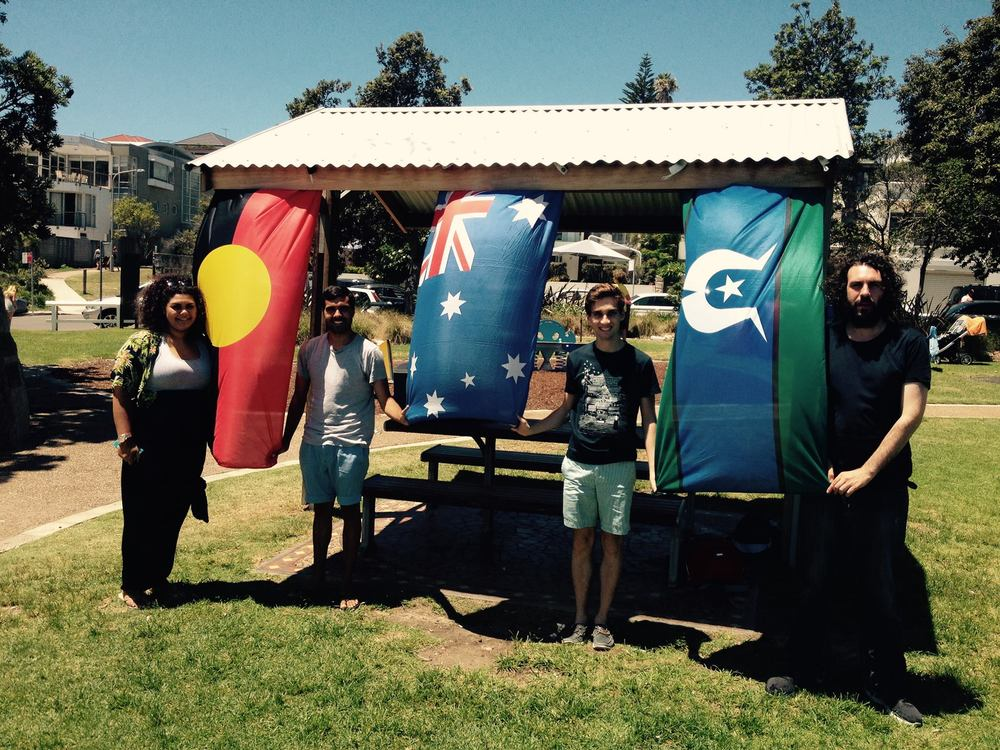 2015 YARN Hosts an event at Bondi Beach with Students attending from University of New South Wales, University of Sydney, and the University of Tasmania
