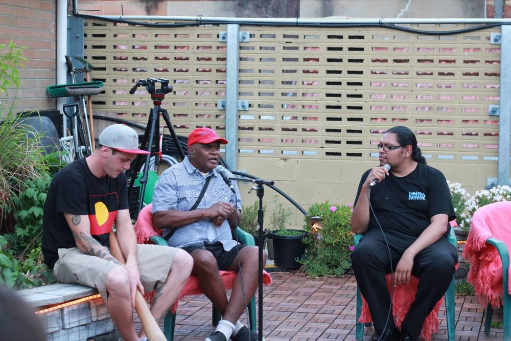 2015 YARN Officially partners with 107 Projects in Redfern hosting another YARN Sixty Thousand event with guest speaker Uncle Graham Moonie sharing his story at the event.