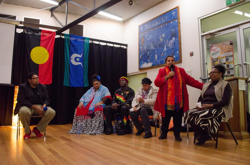 June 3rd Mabo Day at Redfern Community Centre: YARN Ambassador Aunty Pearl Wymarra sharing her story