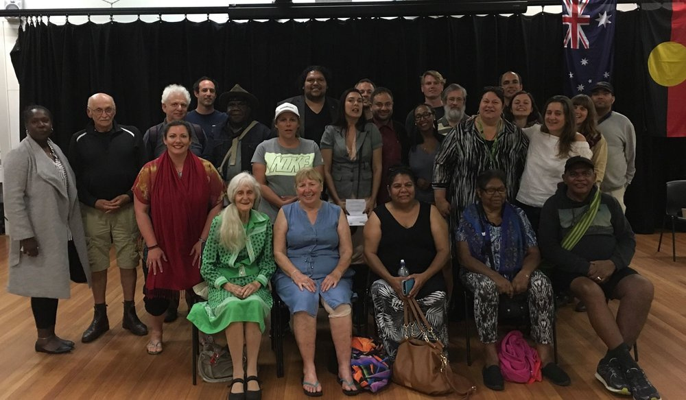 2017 21st November Film Screening Occupation: Native YARN Australia hosted at the event at the Redfern Community Centre. Thanks to Cassie Jackson, and Aunty Lena Quinlin for sharing your stories. See above photo of the many who attended the event.