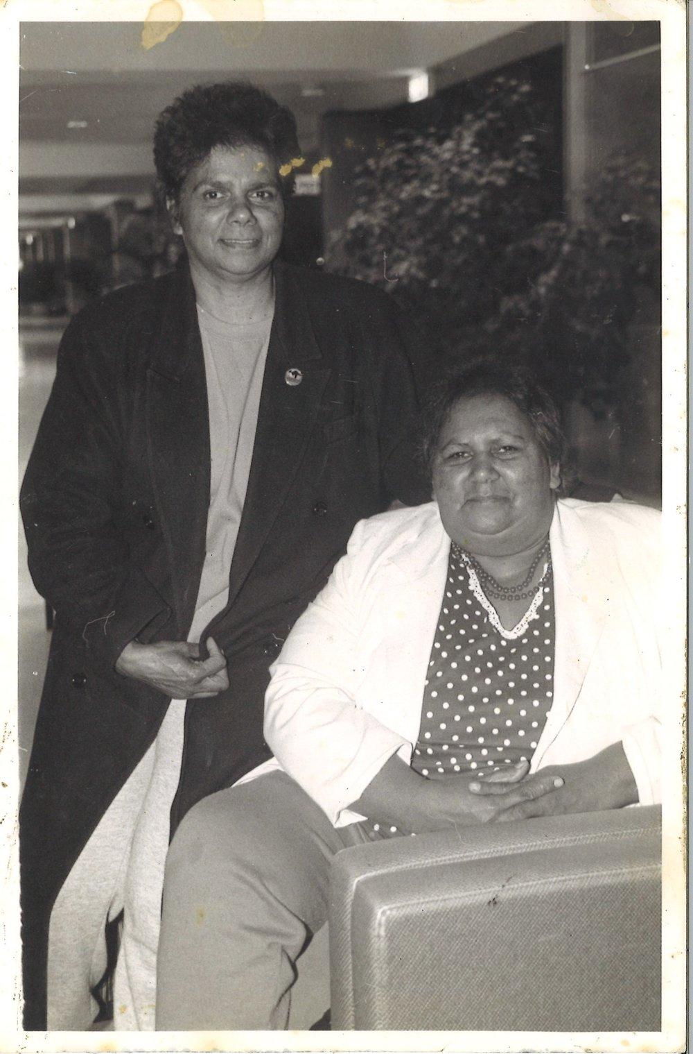 Quinlan Sisters - Aunty Pat Dixon and Aunty Elva Taylor