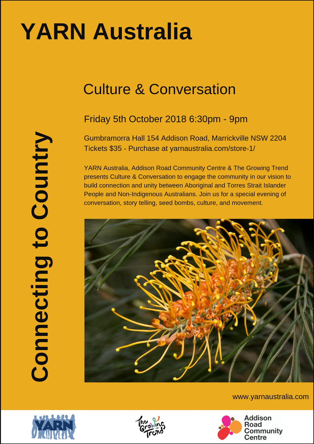 YARN Australia 5th October 2018 Culture & Conversation Poster .jpg