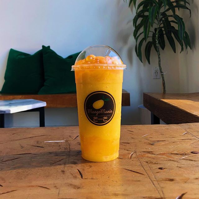 It's warm #yyc, come down to Mango Mania and cool off!