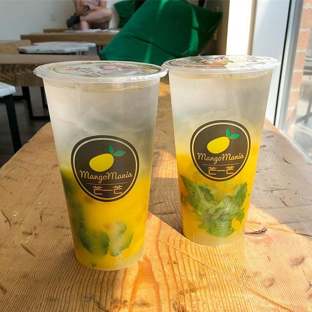 Mango Mojitos all summer long 😎 (non-alcoholic version sold in stores only. What you do after is fine with us!)