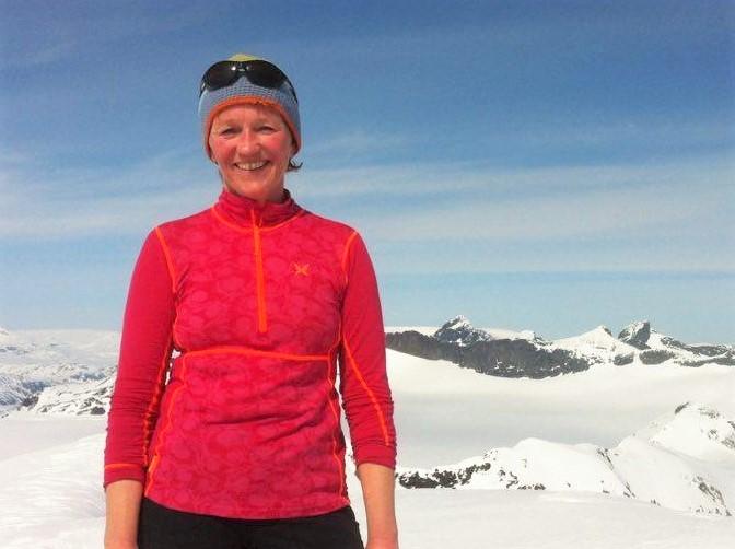 Mai Bakken er ofte å finne over tregrensa når ho ikkje er på jobb på fjellsenteret.