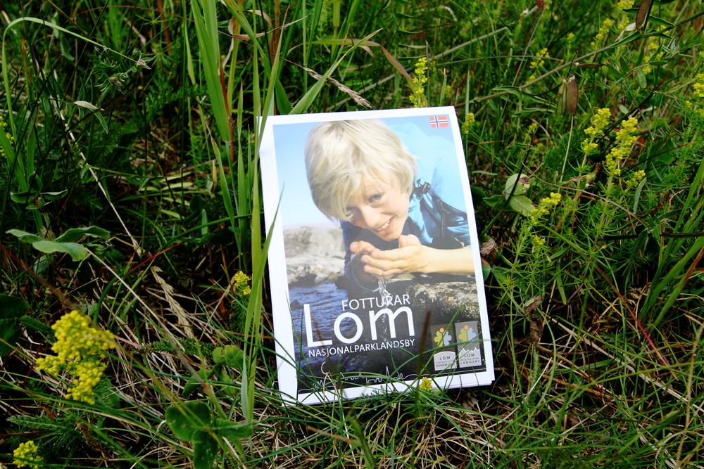 Gratis turkart for Lom og omegn: Fotturar i Lom.