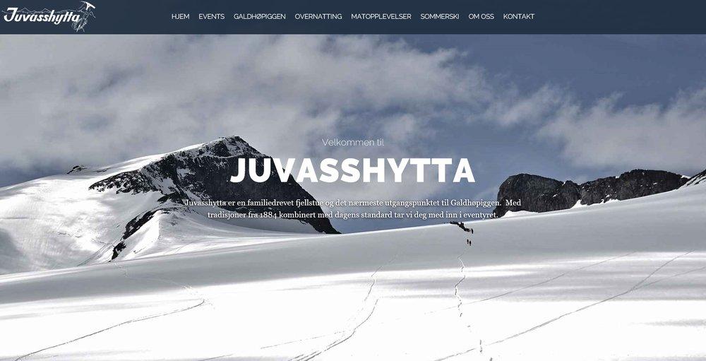 JUVASSHYTTA Overnatting og fjellføring ved Galdhøpiggen.