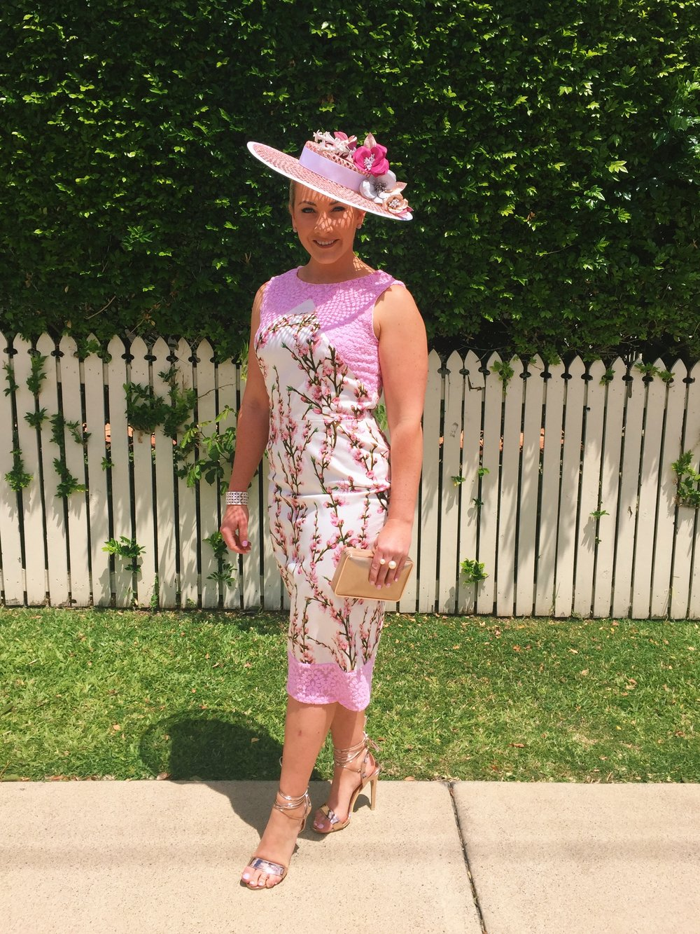 National Breast Cancer Awareness Pink Day was themed a touch of pink   Millinery by Pink Lane Hats