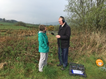 Interview for Radio Wales
