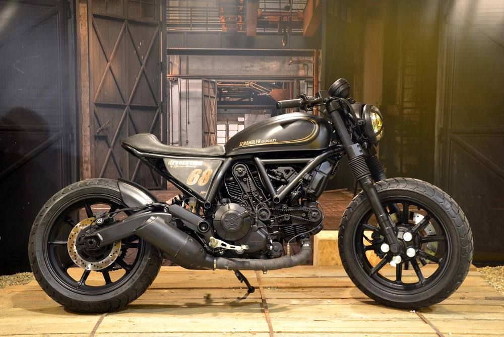 La Scrambler Sixty2 Revolution di Officine Mermaid
