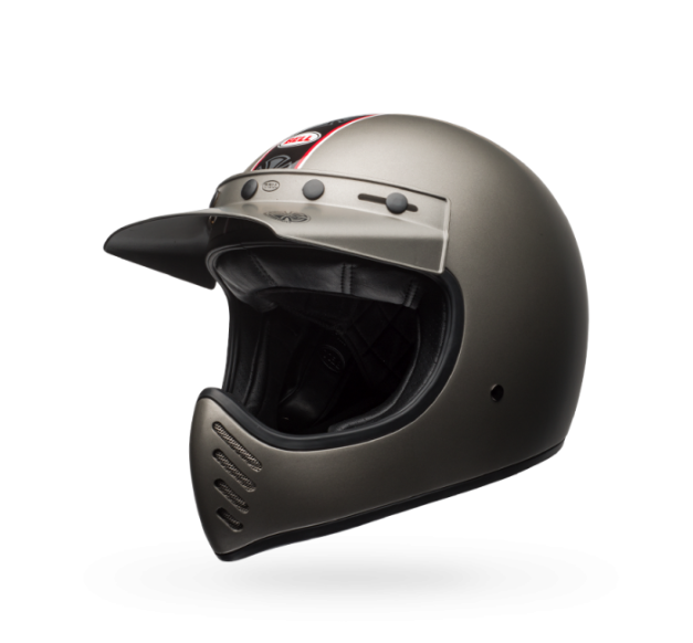 Bell Moto-3 Helmet - Independent Matte Titanium