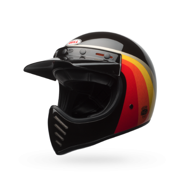 Bell Moto-3 Helmet - Chemical Candy Black & Gold