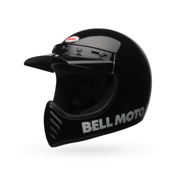 Bell Moto-3 Helmet - Classic Black