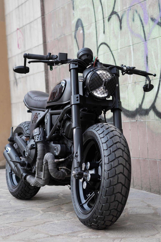 Ducati Scrambler 800 Quot Nightowl Quot Officine Mermaid