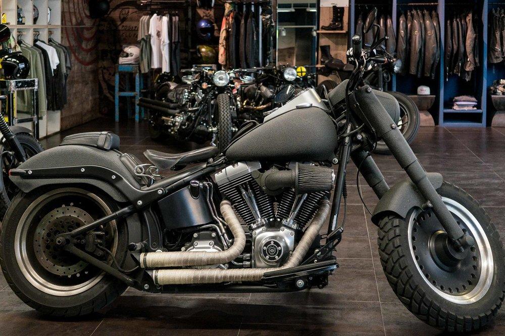 Marca:  Harley Davidson Modello:  FatBoy Special -1584C.C. 00 35