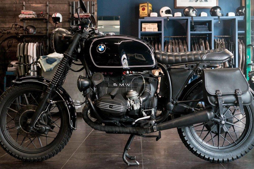 Marca:  BMW Modello:  R80(Special Officine Mermaid) 0 37