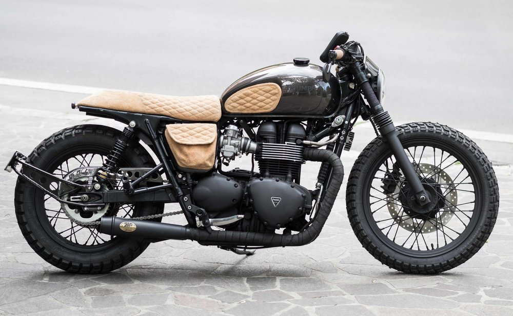 NEW TRIUMPH BONNEVILLE T100