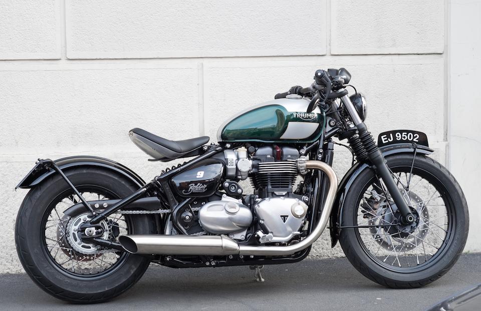 Marca: Triumph Modello: Bobber 1200     0 58