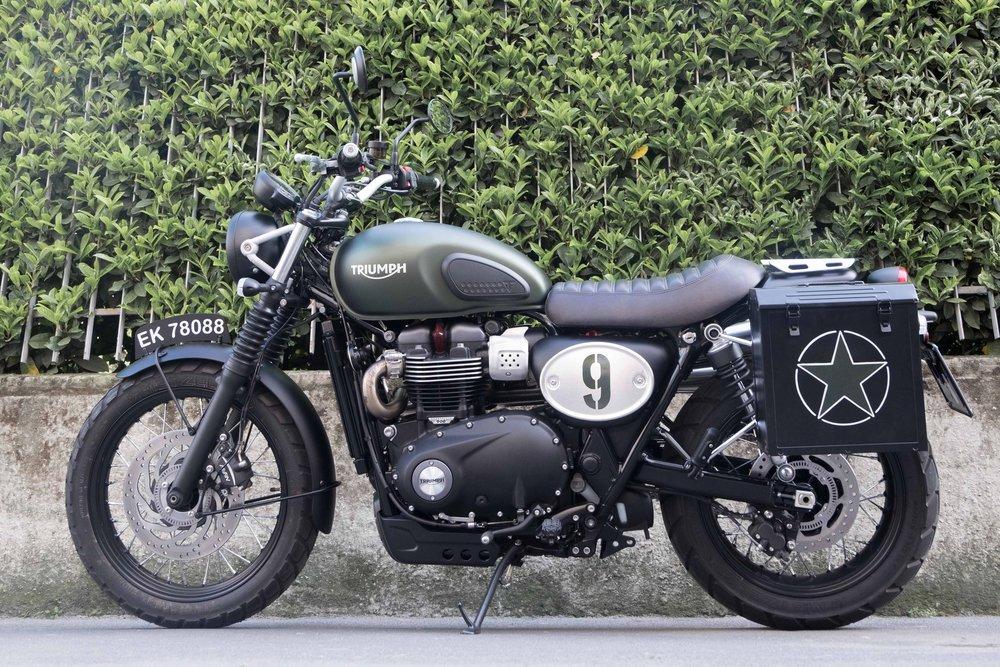 Marca: Triumph Modello: Street Scrambler     0 70