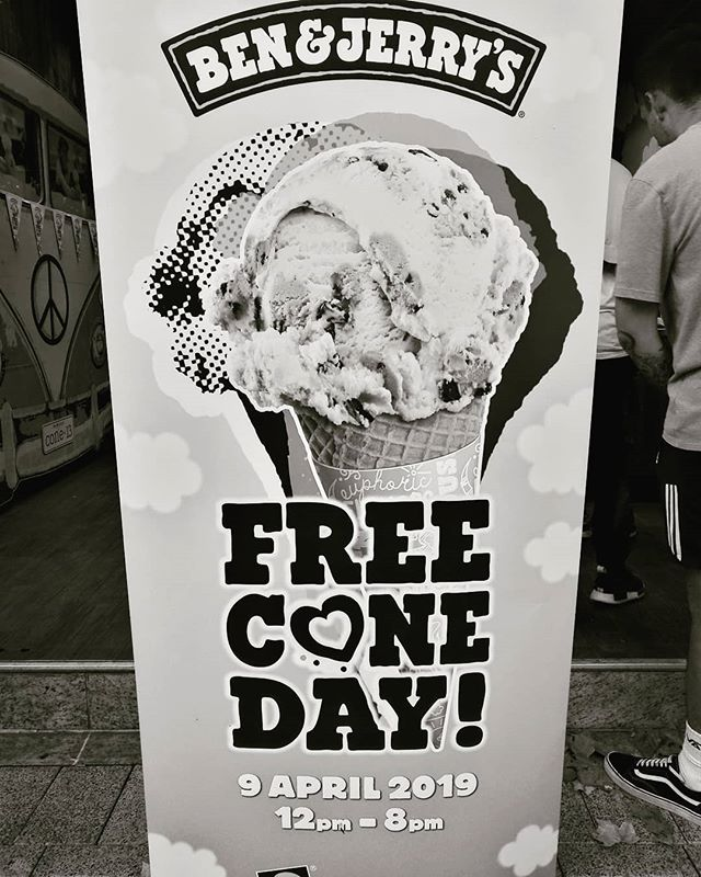 My favourite day of the year! . . #freescoopday #icecream #flavorgod #flavour #delicious #dairy #sugar #goodness