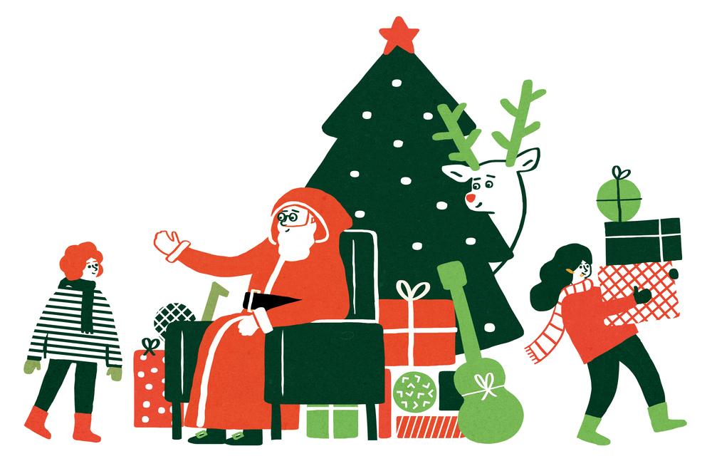 Christmas for Cara Magazine.