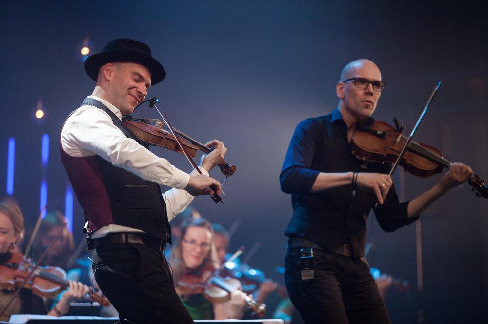 Antti and Esko Järvelä. Foto: Oddleiv Apneseth