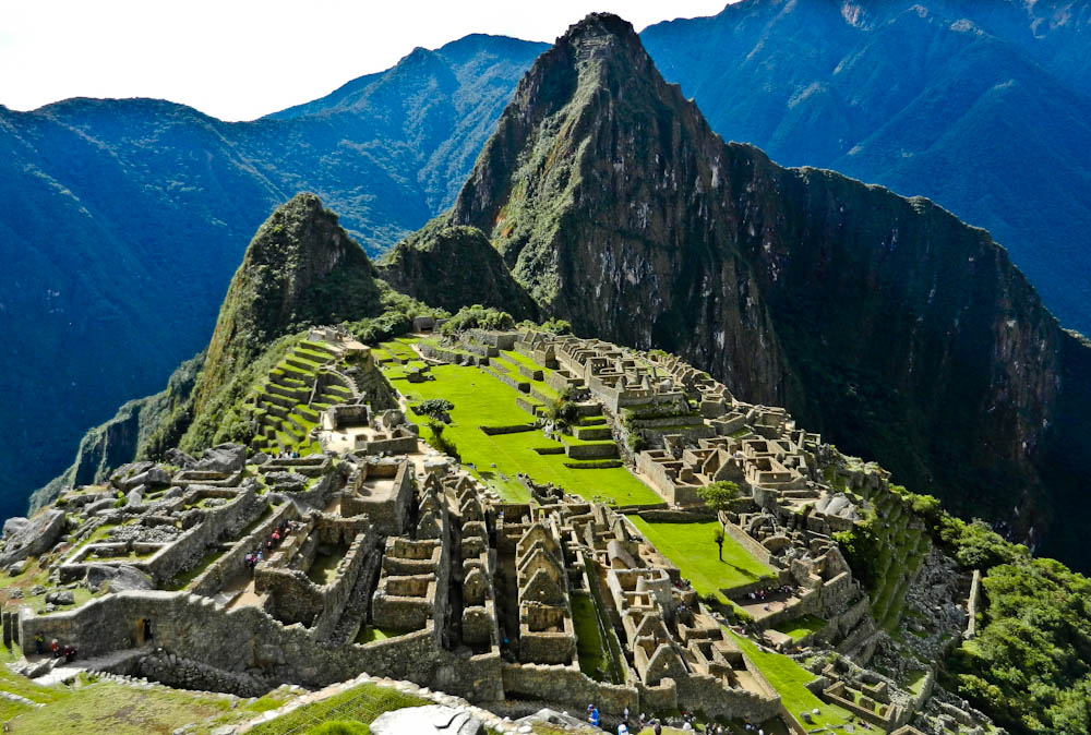 The amazing Macchu Pichu, in Perú
