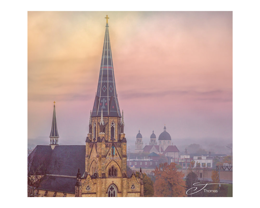 """Steeples"" Grand Rapids, Michigan"