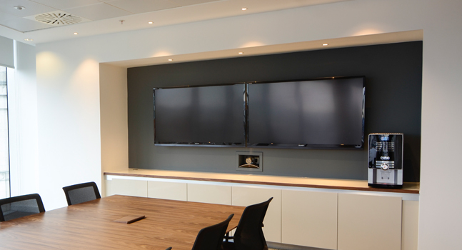 audio visual commercial install