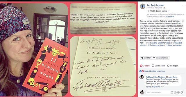 Love to generous readers @jenjen1969 #robwilsonwork #reader #dallas #literature