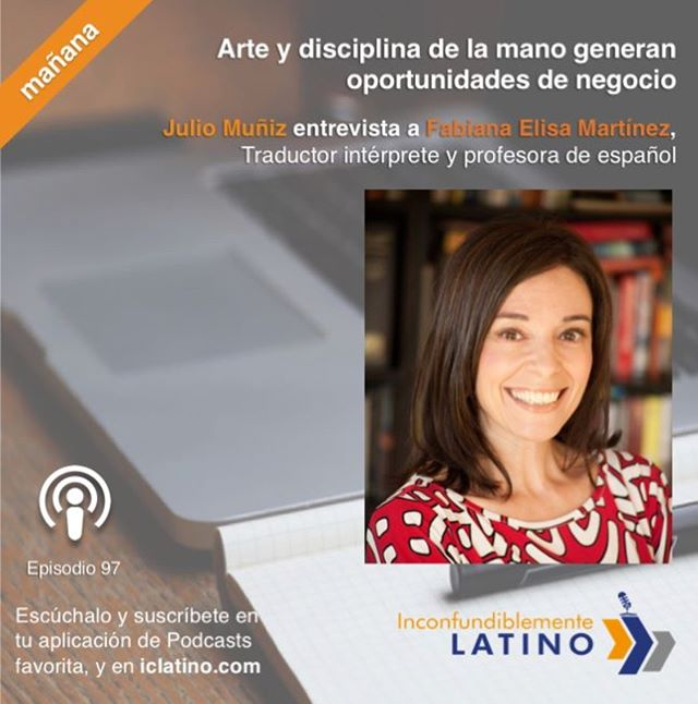 Happy to be part of this great podcast. Check it on Monday, March 5th, at iclatino.com. Muchas gracias, @juliomunizc! #podcast #español #robwilsonwork #dallas