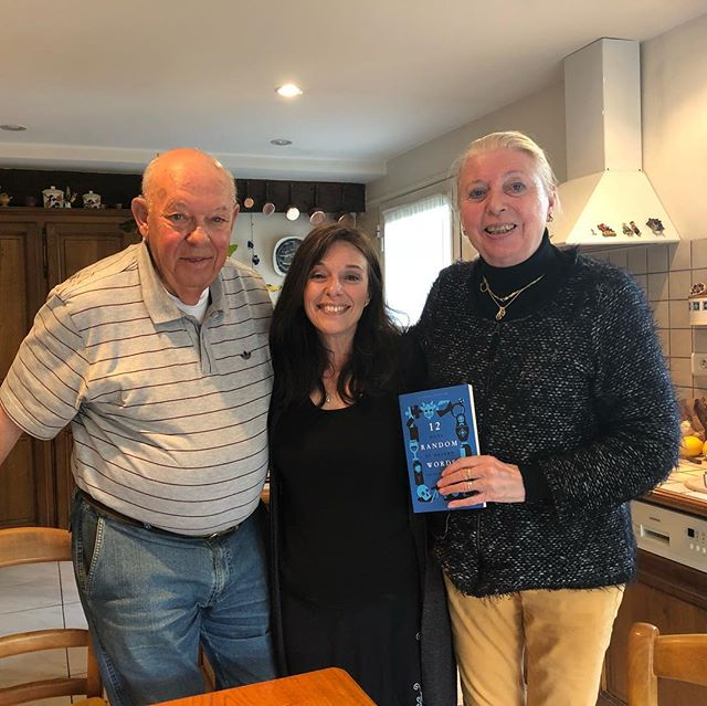 Happy and generous readers in the South of France. Merci, Madeleine and Patrick Loquen ! #beauregard #france #bilingualbooks #livres #livrestagram
