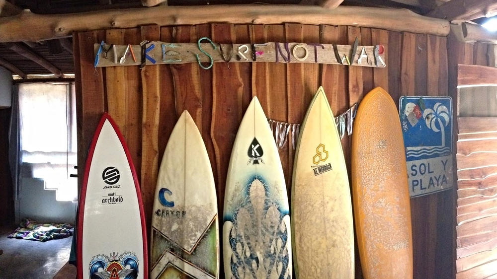 MAKE SURF NOT WAR