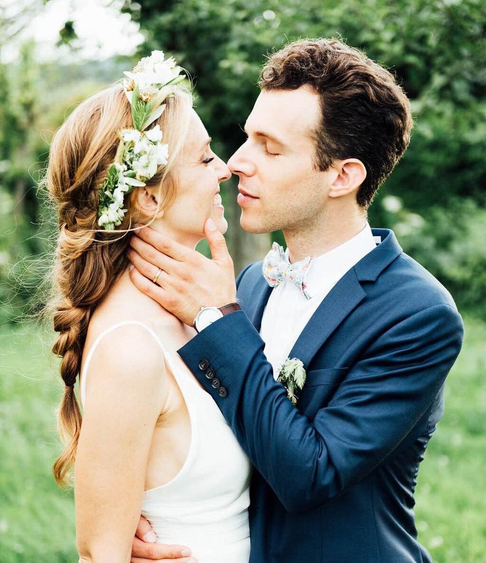 Coiffure bohème mariage